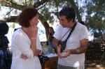 H Maritha Nielsen μαζί με τον Λέκτορα του Πανεπιστημίου Αθηνών, Δημήτρη Γκούσκο.
