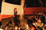 Η Ελεάννα Γεροντοπούλου μας έδωσε να καταλάβουμε πώς ένα σακί λουκουμάδες και άφθονα ποιήματα...