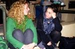 Οι αδελφές Φραγκίσκου (η Ιωάννα - αριστερά - είναι από τη δική μας φουρνιά)...