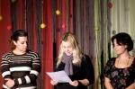...διαβάζονται από τις: Ειρήνη Αθανασοπούλου, Ιωάννα Καψή και Κατερίνα Νάκου.