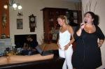 Εδώ με τη Ραχήλ στο σπίτι της Αγγελικής...