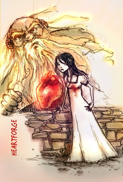 Sermo and Elinor - 2nd Sketch