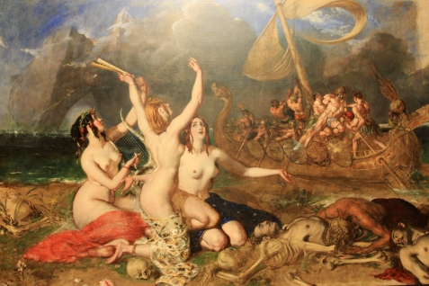 2013-09-10 - The Sirens and Ulysses by William Etty [1837]