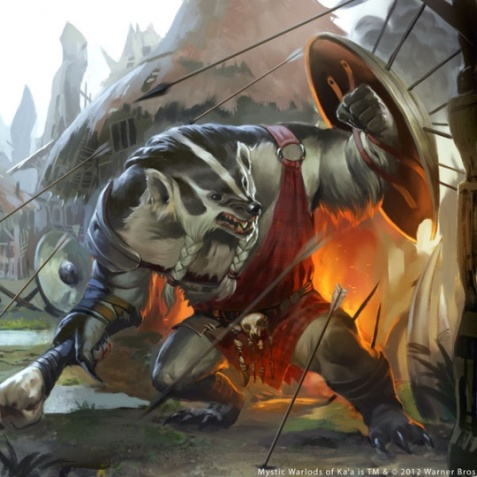 Mystic Warlords of Ka'a - Badger [by Caravan Studios]