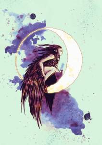 2015-03-15 - Harpy on the Moon